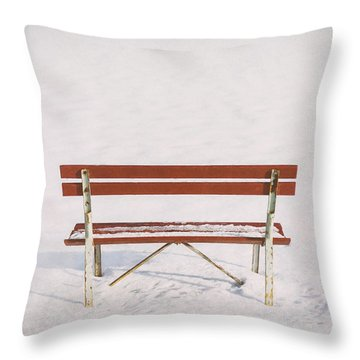 Blank Slate Throw Pillow