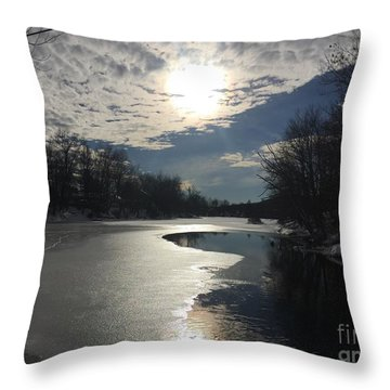 Blanket Of Clouds Throw Pillow