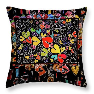 Blanket Of Love  Throw Pillow
