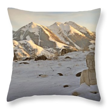 Blanket Of Peace Throw Pillow