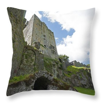 Blarney Castle Dungeon Throw Pillow