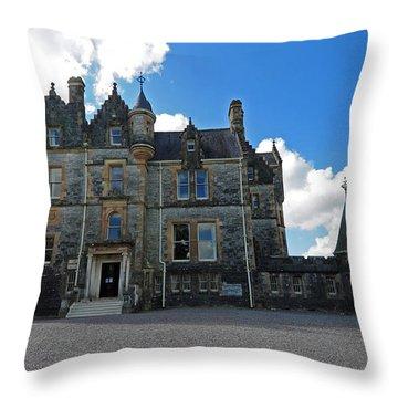 Blarney House County Cork Throw Pillow