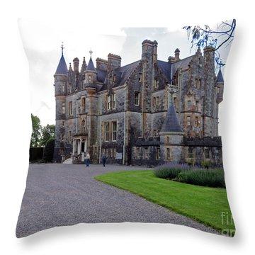 Blarney House Near Blarney Castle Throw Pillow