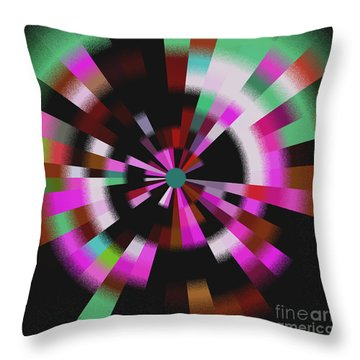 Blast Throw Pillow