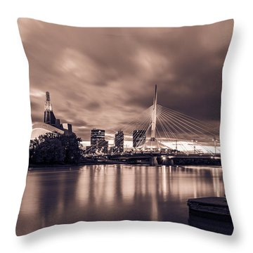 Blast To The Past Throw Pillow