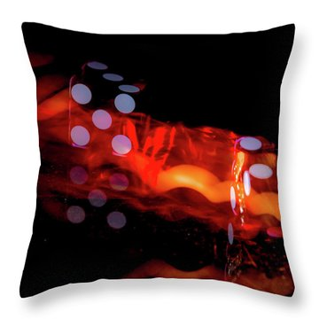 Blazing 7's Throw Pillow
