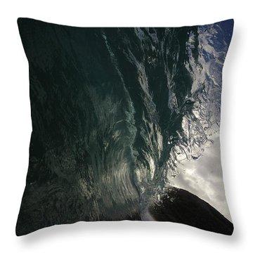 Blazing Flare Throw Pillow