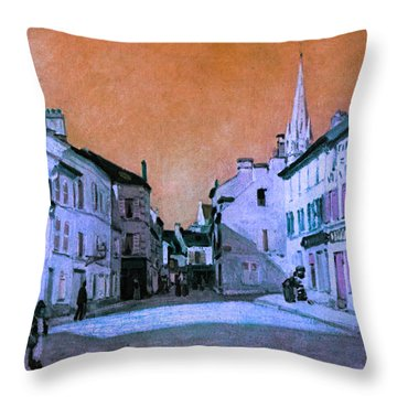 Blend 15 Sisley Throw Pillow by David Bridburg