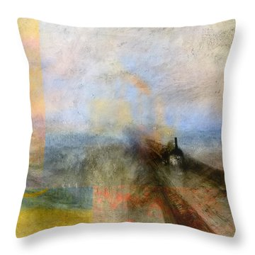 Blend 5 Turner Throw Pillow by David Bridburg