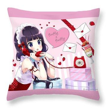 Blend S Throw Pillow
