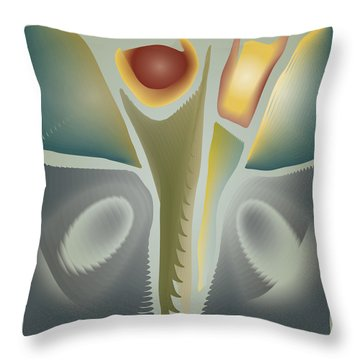 Blendflower Still Life Throw Pillow by Kevin McLaughlin