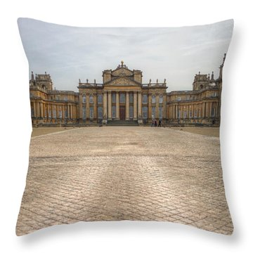 Blenheim Palace Throw Pillow by Clare Bambers