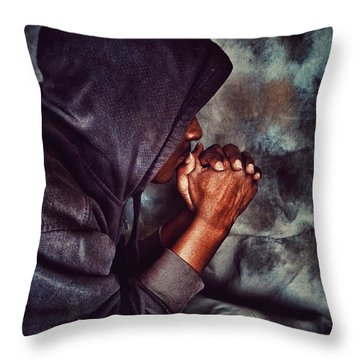 Blessed Are Higher Thoughts Throw Pillow