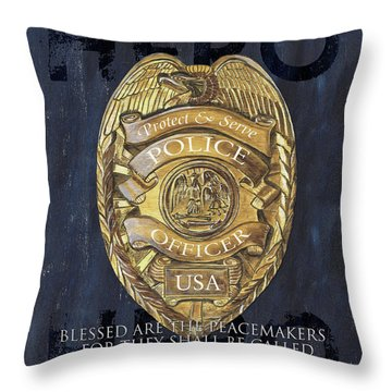 Police Throw Pillows