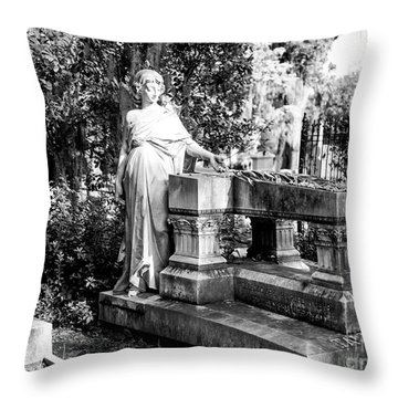 Throw Pillow featuring the photograph Blessed Are The Pure In Heart by John Rizzuto