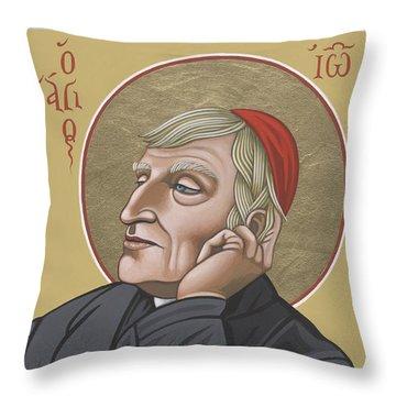 Blessed Cardinal John Henry Newman 221 Throw Pillow