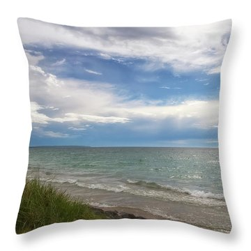 Throw Pillow featuring the photograph Blessed by Heather Kenward