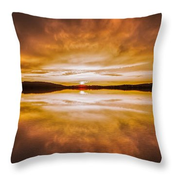 blessed Sight Throw Pillow by Rose-Maries Pictures