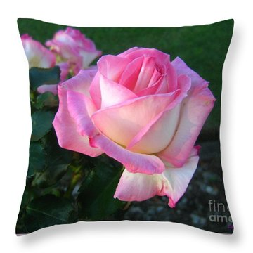Blessings Throw Pillow by Leanne Seymour