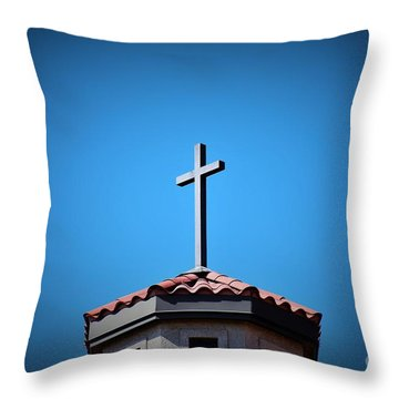 Throw Pillow featuring the photograph Blessings To Everyone Of All Faiths by Ray Shrewsberry