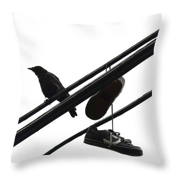 Blind Nights  Throw Pillow