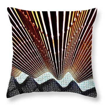 Blind Shadows Abstract I I I Throw Pillow