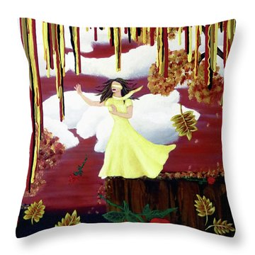 Blinded By Love Throw Pillow