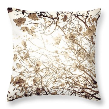 Blinding Sun Throw Pillow