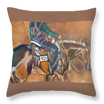Bling My Ride Throw Pillow