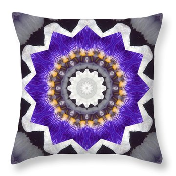 Throw Pillow featuring the photograph Bliss by Bell And Todd