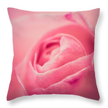 Bliss Throw Pillow by Yvette Van Teeffelen
