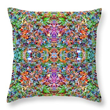 Blissful Awareness Throw Pillow