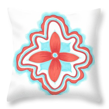 Blissful Throw Pillow