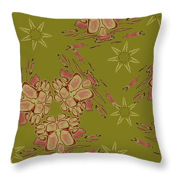 Blob Head Revisited Throw Pillow