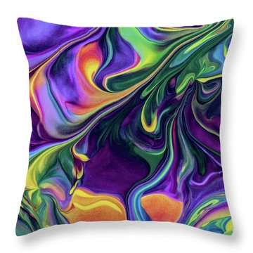 Block Rockin' Throw Pillow