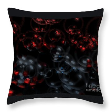 Blood And Tears Throw Pillow