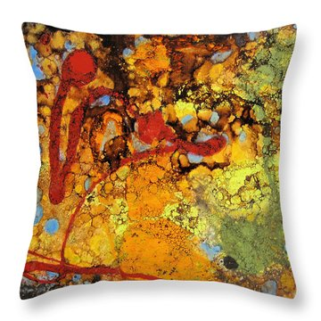 Blood Is Thicker Than Water - 4 Throw Pillow