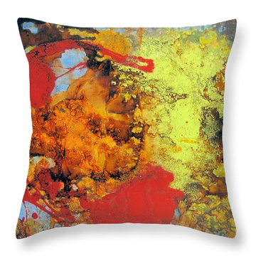 Blood Is Thicker Than Water - 5 Throw Pillow