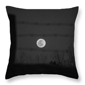 Blood Moon Throw Pillow
