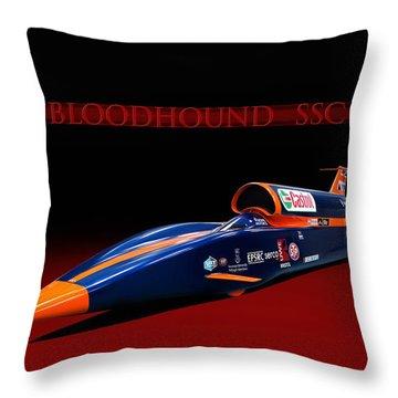 Bloodhound Ssc Throw Pillow