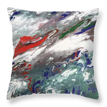 Bloody Well Right Throw Pillow