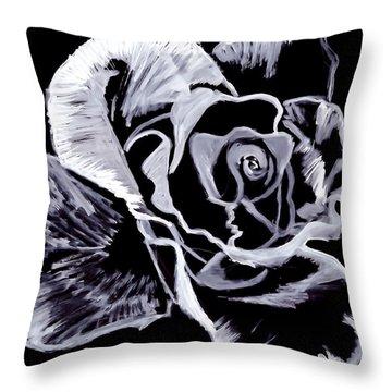 Moonlit Throw Pillow