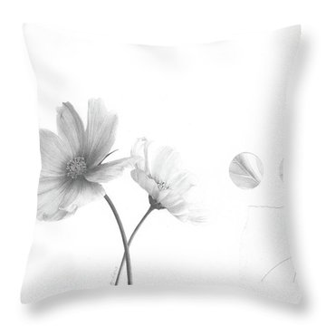 Bloom No. 2 Throw Pillow