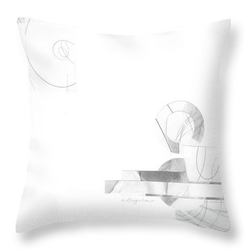 Bloom No. 3 Throw Pillow