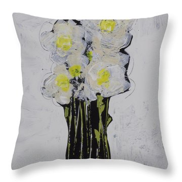 Bloom No. 4 Throw Pillow