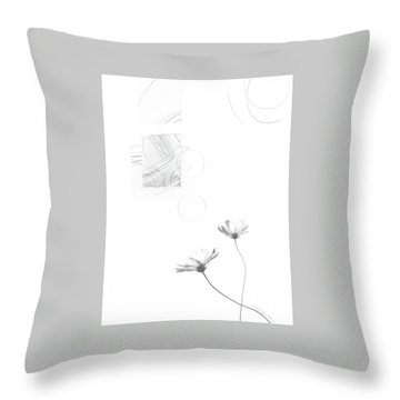 Bloom No. 8 Throw Pillow