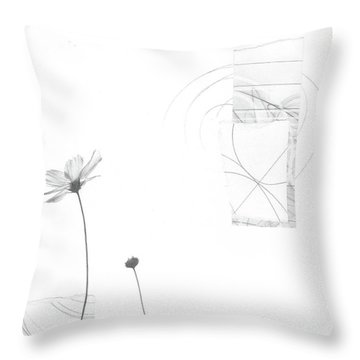 Bloom No. 10 Throw Pillow