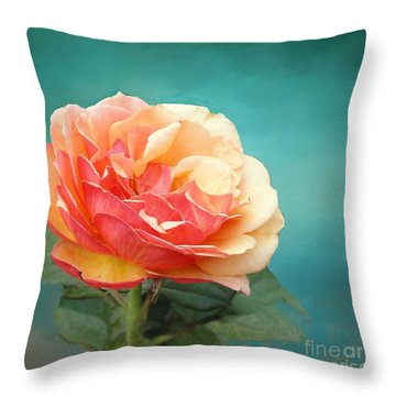 Perfect Rose Of Spring Throw Pillow