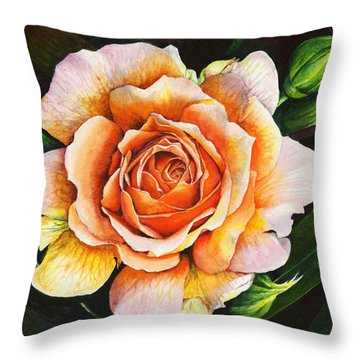 Blooming Marvellous Throw Pillow