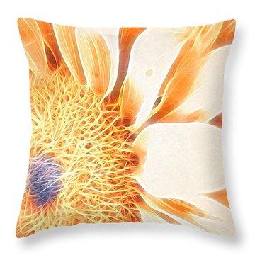 Bloomlit Throw Pillow